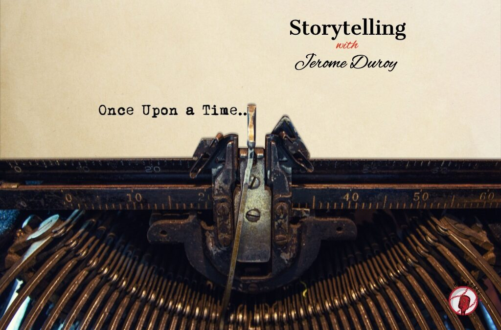 Storytelling with Jerome Deroy